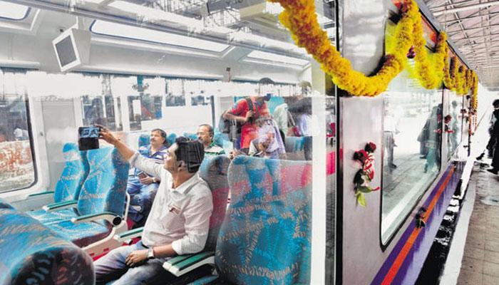 মুম্বই-গোয়া রুটে অভিষেক হল বিলাসবহুল 'ভিস্তাডোম' কোচের