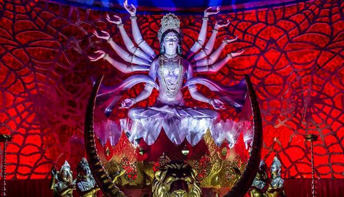 আজ নবমী, প্রাণের উত্সবে মাতোয়ারা গোটা রাজ্য