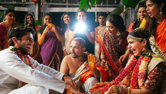 নাগা চৈতন্য ও সামান্থার 'রূপকথার' সেই বিয়ের রইল কিছু ছবি
