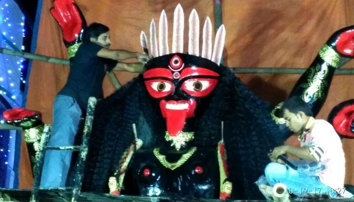বাংলায় দক্ষিণা কালীর প্রবর্তক কৃষ্ণানন্দ আগমবাগীশের আগমেশ্বরী পুজো