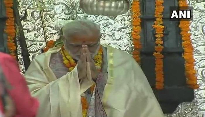 কেদারনাথে পুজো দিলেন প্রধানমন্ত্রী, দেখুন ভিডিও