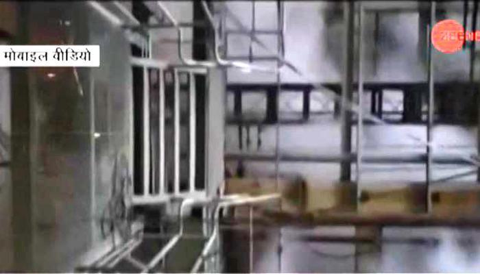 রায়বরেলিতে বয়লার বিস্ফোরণের এক্সক্লুসিভ ভিডিও