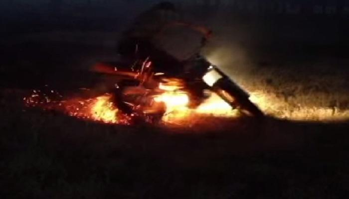 বাইক লক্ষ্য করে ছুটে এল পেট্রোল বোমা, পুড়িয়ে মারার চেষ্টা তৃণমূল নেতাকে