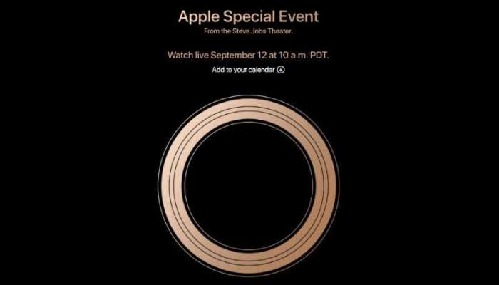 Live Streeming-এ দেখুন iPhone XS ও iPhone XS Max-এর লঞ্চ অনুষ্ঠান
