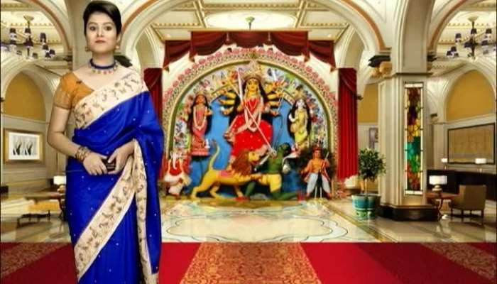 Pujo Asche : Baghajatin Tarun Sangha - Brand Ambassador Actress Priyanka