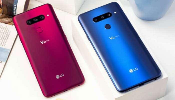 ৫টি ক্যামেরা-সহ লঞ্চ করল LG-র নতুন স্মার্টফোন V40 ThinQ