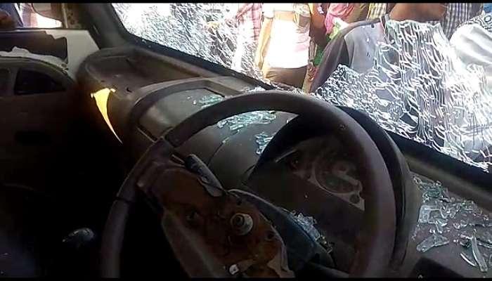 'পাঁচশো টাকা চাঁদা চাই', না মিলতেই আক্রান্ত ট্রাক চালক, ধুন্ধুমার বর্ধমানে