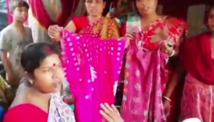 নাচের প্রস্তাবে 'না', মহিলাদের পোশাক ছিঁড়ল যুবকের দল