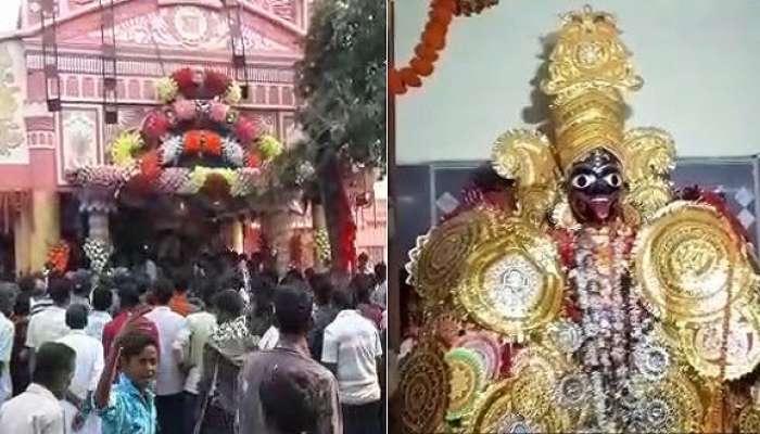 চিনপাইয়ে কালী মন্দিরে চুরির ঘটনায় নমুনা সংগ্রহ করলেন সিআইডি আধিকারিকরা
