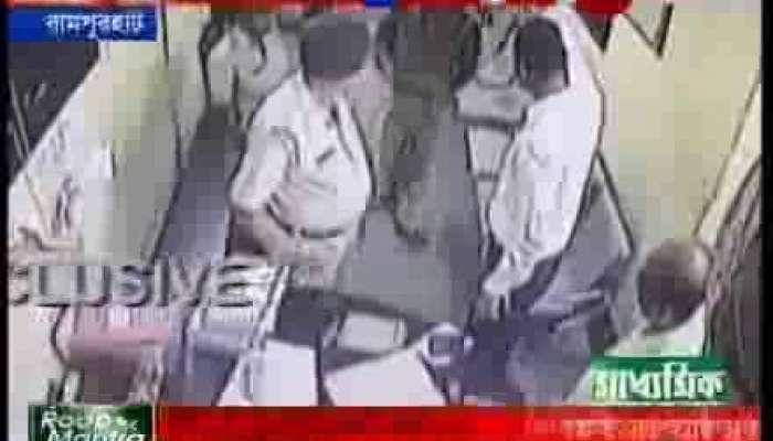 Rampurhaat SDO threats duty officer in police station